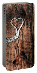 Crafted Heart Portable Battery Charger by Michelle Joseph-Long