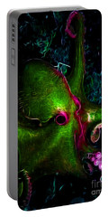 Creatures Of The Deep - The Octopus - Electric - Green Portable Battery Charger