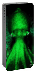 Creatures Of The Deep - The Octopus - V4 - Green Portable Battery Charger