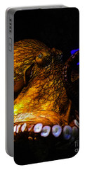 Creatures Of The Deep - The Octopus - V6 - Gold Portable Battery Charger