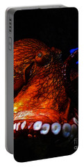 Creatures Of The Deep - The Octopus - V6 - Orange Portable Battery Charger