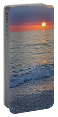 Crystal Blue Waters At Sunset In Treasure Island Florida 2 Portable Battery Charger