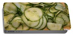 Cucumbers Portable Battery Charger