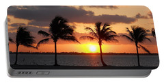 Portable Battery Charger featuring the photograph Cudjoe Sunrise by Clara Sue Beym