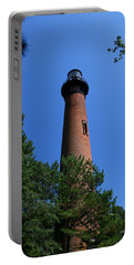 Currituck Lighthouse Portable Battery Charger by Karen Harrison