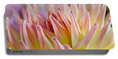Dahlia Flower 05 Portable Battery Charger