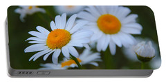 Daisy Portable Battery Charger by Athena Mckinzie