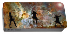 Dancing Nebula Portable Battery Charger