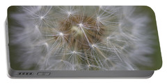 Dandelion Clock. Portable Battery Charger