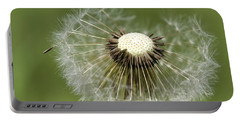 Dandelion Half Gone Portable Battery Charger