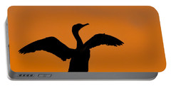 Dawn Of A Double-crested Cormorant  Portable Battery Charger