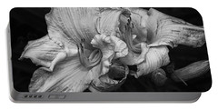 Day Lilies Portable Battery Charger by Eunice Gibb