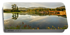 Portable Battery Charger featuring the photograph Deer Island Bridge by Albert Seger