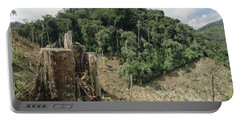Deforested Hillside Of Wet Montane Portable Battery Charger