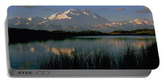 Portable Battery Charger featuring the photograph Denali by Doug Herr