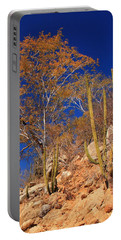 Desert Colors Portable Battery Charger by Roupen  Baker