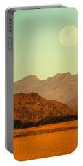 Desert Moonrise Portable Battery Charger
