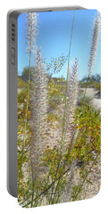 Portable Battery Charger featuring the photograph Desert Trail by Kume Bryant