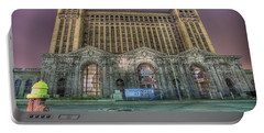 Detroit's Michigan Central Station - Michigan Central Depot Portable Battery Charger