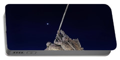 Digital Drawing - Iwo Jima Memorial At Dusk Portable Battery Charger