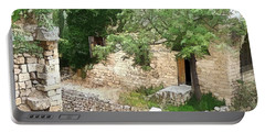 Portable Battery Charger featuring the photograph Do-00486 Old House From Citadel by Digital Oil