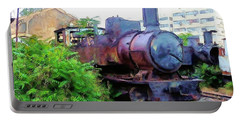 Portable Battery Charger featuring the photograph Do-00504 Train In Mar Mickael by Digital Oil