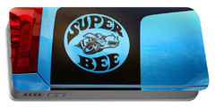 Dodge Charge Super Bee Logo  Portable Battery Charger