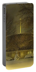Portable Battery Charger featuring the photograph Dorcas Chapel by Tiffany Erdman