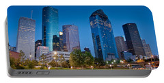 Downtown Houston Portable Battery Charger