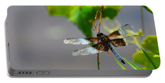 Dragonfly Portable Battery Charger by Cindy Manero