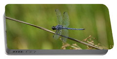 Portable Battery Charger featuring the photograph Dragonfly by Heidi Poulin
