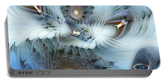 Portable Battery Charger featuring the digital art Dream Journey by Casey Kotas