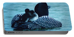 Duck Family Joy In The Lake  Portable Battery Charger