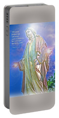 Easter Miracle Portable Battery Charger by Marie Hicks