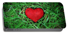 Eco Heart Portable Battery Charger by Laura Melis