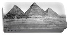 Egyptian Pyramids - C 1901 Portable Battery Charger by International  Images
