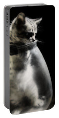 Portable Battery Charger featuring the photograph El Kitty by Jessica Shelton