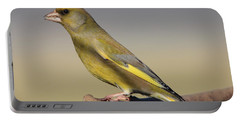 European Greenfinch Portable Battery Charger