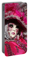 Eve In Pink Portable Battery Charger