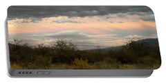 Evening In Tucson Portable Battery Charger by Kume Bryant