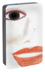 Portable Battery Charger featuring the photograph Face by Vicki Ferrari