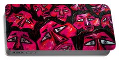 Faces - Pink Portable Battery Charger