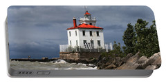 Fairport Harbor West Breakwater Lighthouse Portable Battery Charger