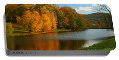 Fall In New York State Portable Battery Charger