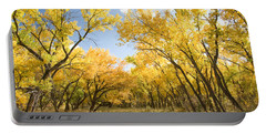 Fall Leaves In New Mexico Portable Battery Charger