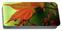 Fall Leaves Portable Battery Charger by Michelle Joseph-Long