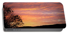 Fall Sunrise Portable Battery Charger