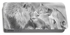 Father And Cub Portable Battery Charger