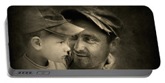 Father Figure Portable Battery Charger