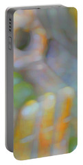 Portable Battery Charger featuring the digital art Fearlessness by Richard Laeton